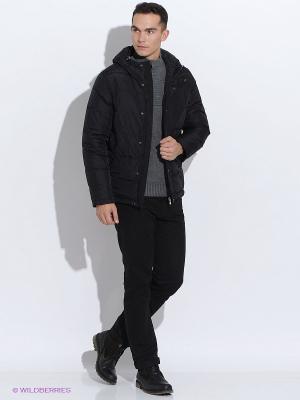Пуховик Baon. Цвет: черный