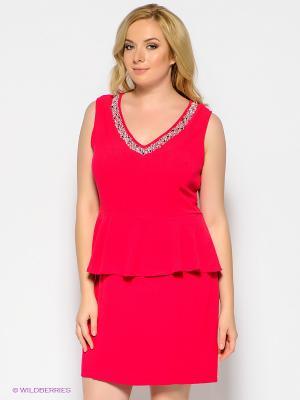 Платье New Look. Цвет: малиновый