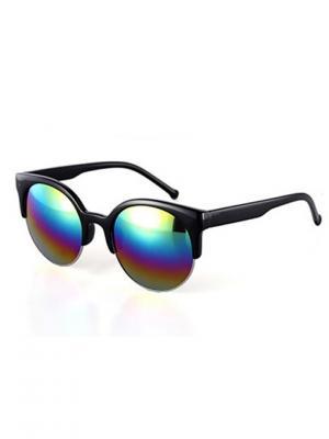 Солнцезащитные очки Leya.. Цвет: черный, зеленый