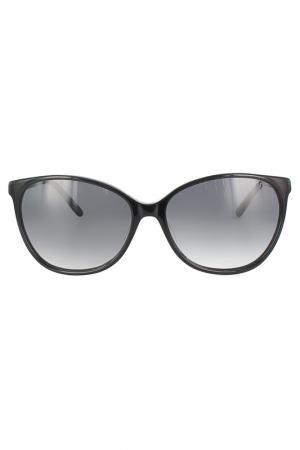 Очки солнцезащитные ELLE. Цвет: черный