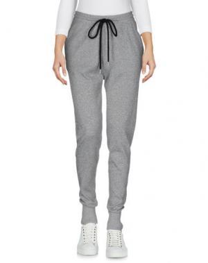 Повседневные брюки MARKUS LUPFER. Цвет: серый
