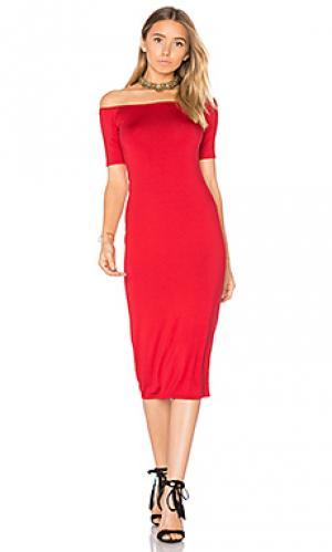 Платье миди jagger Rachel Pally. Цвет: красный