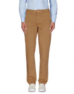Повседневные брюки QU4TTRO. Цвет: коричневый