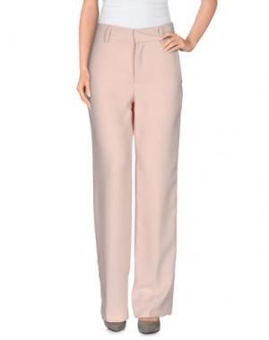 Повседневные брюки OTTOD'AME. Цвет: светло-розовый