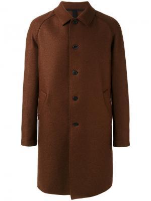 Классическое пальто Harris Wharf London. Цвет: красный