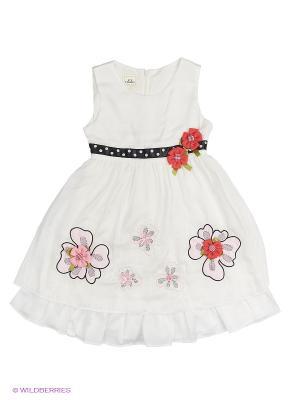 Платье Cascatto. Цвет: белый