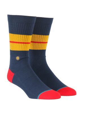 Носки SEQUOIA 2 (FW17) Stance. Цвет: темно-синий,красный,желтый