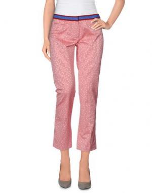Повседневные брюки TERESA DAINELLI. Цвет: пастельно-розовый