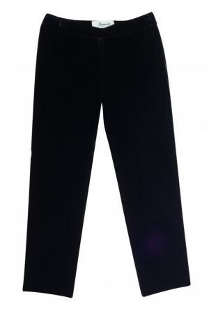 Черные вельветовые брюки Fanfare Bonpoint. Цвет: none