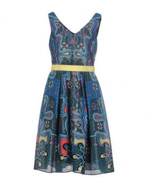 Платье до колена PETER PILOTTO. Цвет: пастельно-синий