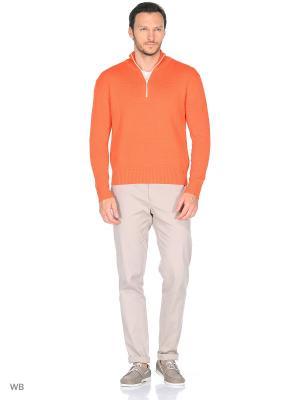 Свитер MAER. Цвет: оранжевый
