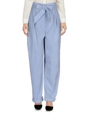Повседневные брюки TEMPERLEY LONDON. Цвет: небесно-голубой