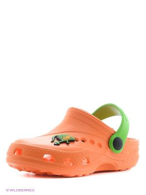 Сабо Дюна. Цвет: оранжевый, зеленый