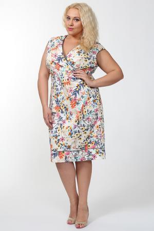 Платье Verpass. Цвет: мультицвет