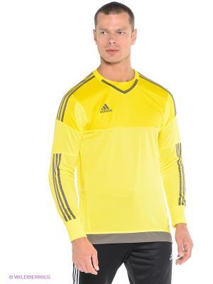 Лонгслив Top 15 Gk Adidas. Цвет: желтый