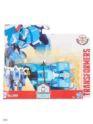 Робот Transformers. Цвет: лазурный, индиго, серо-голубой