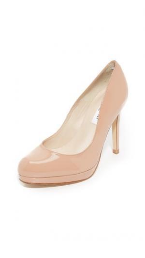 Лакированные туфли-лодочки Sledge L.K. Bennett. Цвет: светло-коричневый
