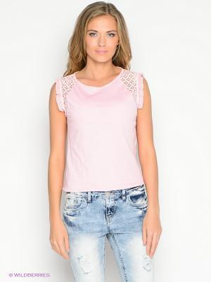 Блузка Lynne. Цвет: розовый