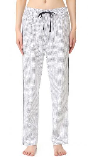 Allison Пижамные брюки Alessandra Mackenzie. Цвет: белый/темно-синий горошек