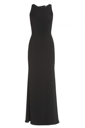 Платье из искусственного шелка 180489 Cristina Effe. Цвет: черный