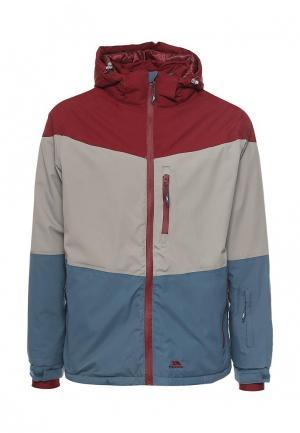 Куртка горнолыжная Trespass. Цвет: разноцветный