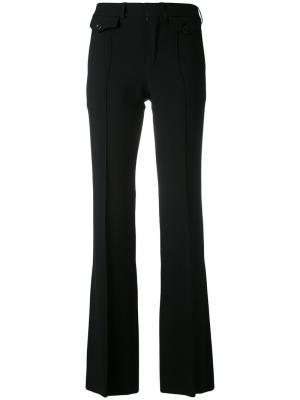 Расклешенные брюки Chloé. Цвет: чёрный