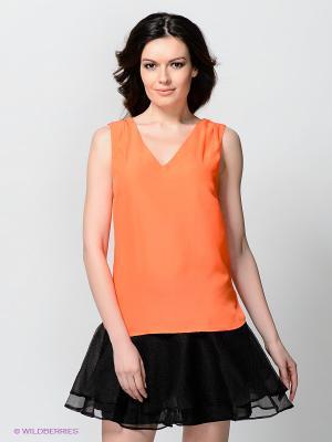 Блузка Vero moda. Цвет: оранжевый