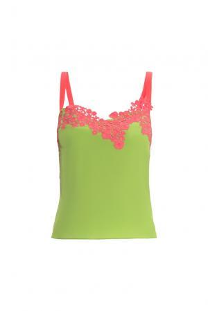 Топ из шелка 157789 Lolita Shonidi. Цвет: зеленый
