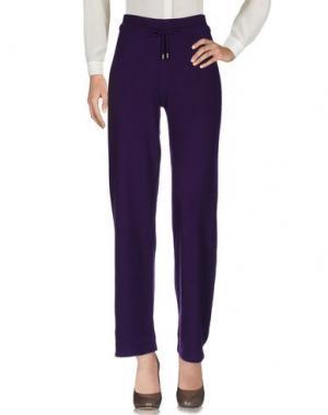 Повседневные брюки KANGRA CASHMERE. Цвет: розовато-лиловый