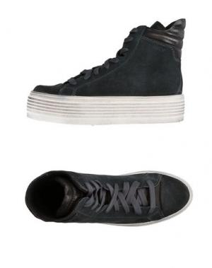Высокие кеды и кроссовки OSEY. Цвет: серый