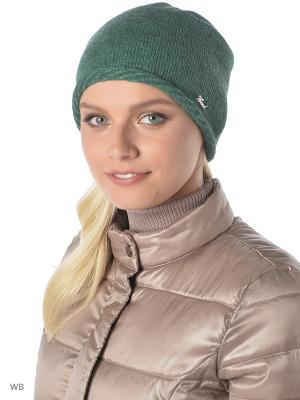 Шапка Trend. Цвет: зеленый