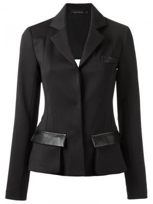 Panelled blazer Gloria Coelho. Цвет: чёрный