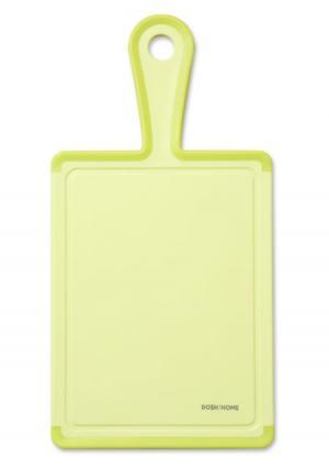 Доска разделочная с ручкой MENSA DOSH | HOME. Цвет: зеленый (салатовый)
