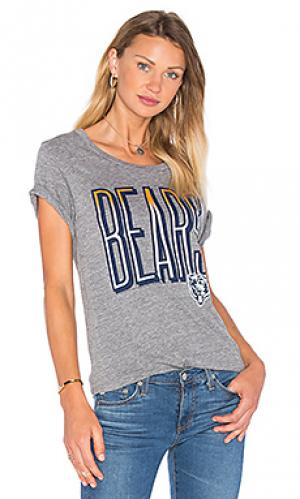 Футболка bears Junk Food. Цвет: серый