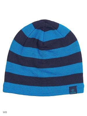 Шапка Bergans. Цвет: темно-синий, голубой