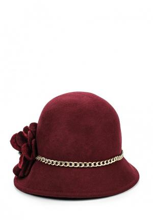 Шляпа Le Camp. Цвет: бордовый