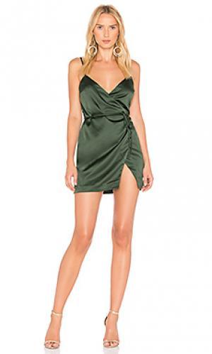 Платье nina MAJORELLE. Цвет: зеленый