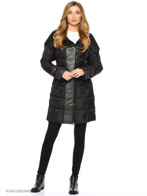Пальто MOHNASS. Цвет: черный