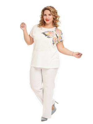 Блуза Элоиса Царевна. Цвет: белый