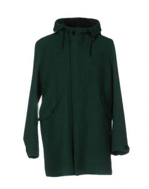 Пальто MONTEDORO. Цвет: зеленый