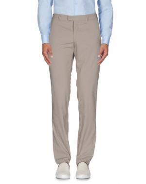 Повседневные брюки YOON. Цвет: бежевый