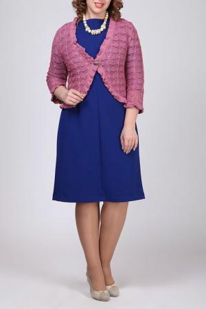 Болеро Текстильная Мануфактура. Цвет: розовый