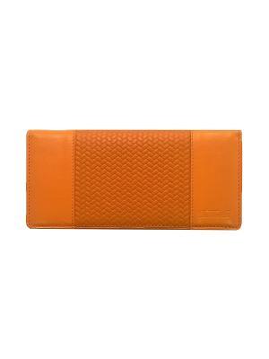 Портмоне женское, с отделением для карт, ЭЛИС оранж Domenico Morelli. Цвет: оранжевый