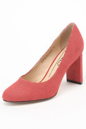 Туфли Carlabei. Цвет: красный