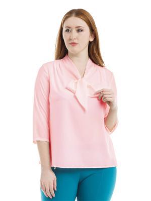 Блузка xLady. Цвет: розовый