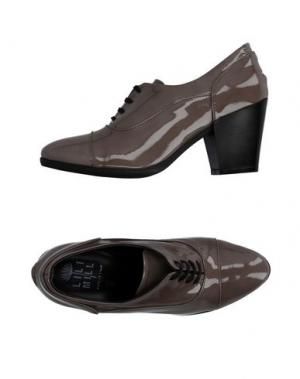 Обувь на шнурках LILIMILL. Цвет: серый