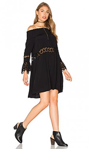 Платье juju Jens Pirate Booty Jen's. Цвет: черный