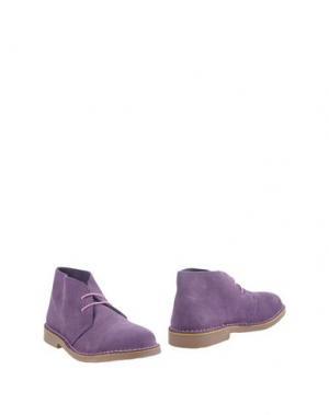 Полусапоги и высокие ботинки KENT. Цвет: фиолетовый