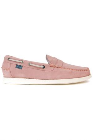 Мокасины POLO CLUB С.H.A.. Цвет: розовый