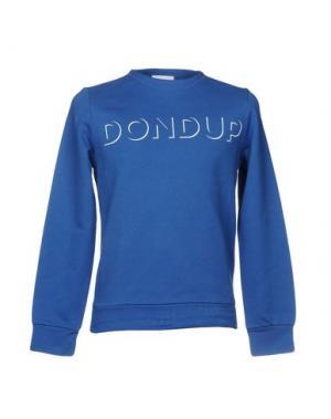 Толстовка DONDUP. Цвет: синий
